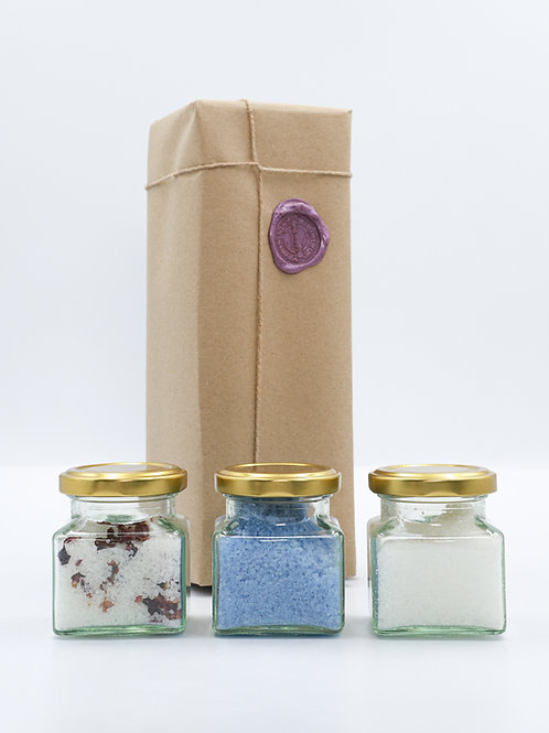 Essential Oil Bath Salts Collection - Calming