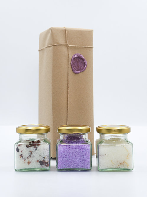 Essential Oil Bath Salts Collection - Aromatic