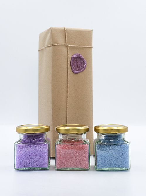 Essential Oil Bath Salts Collection - Relaxation