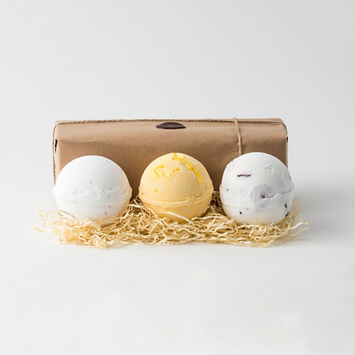 Coconut, Pineapple & Mangosteen Jumbo Bath Bombs