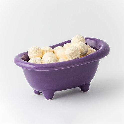 Pinacolada Bonbons - Purple Ceramic Bath Dish