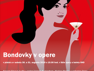 Music from the Bond movies in opera