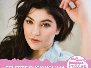 Celeste Buckingham at the Sziget Festival this August