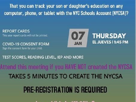 NYC Schools Account Help!