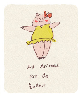 All Animals Can Do Ballet
