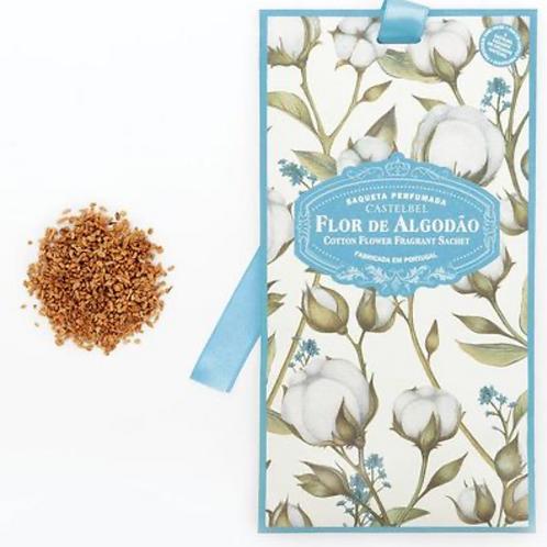 Saqueta perfumada  Castelbel -Flor de Algodão