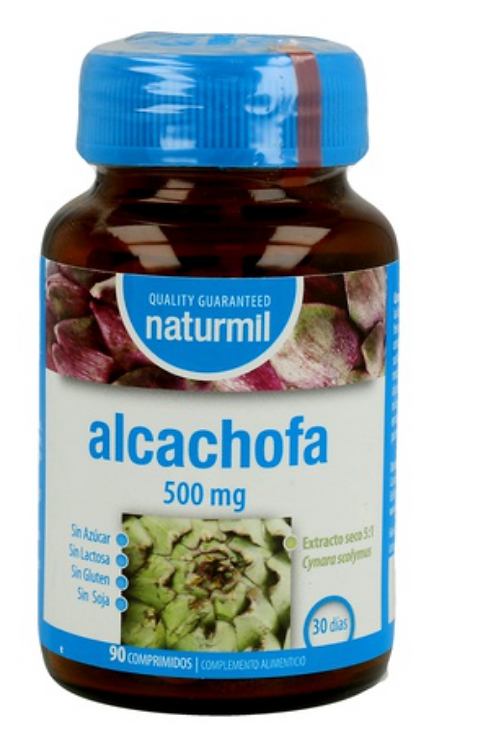 Alcachofra 500mg - (90 comp).