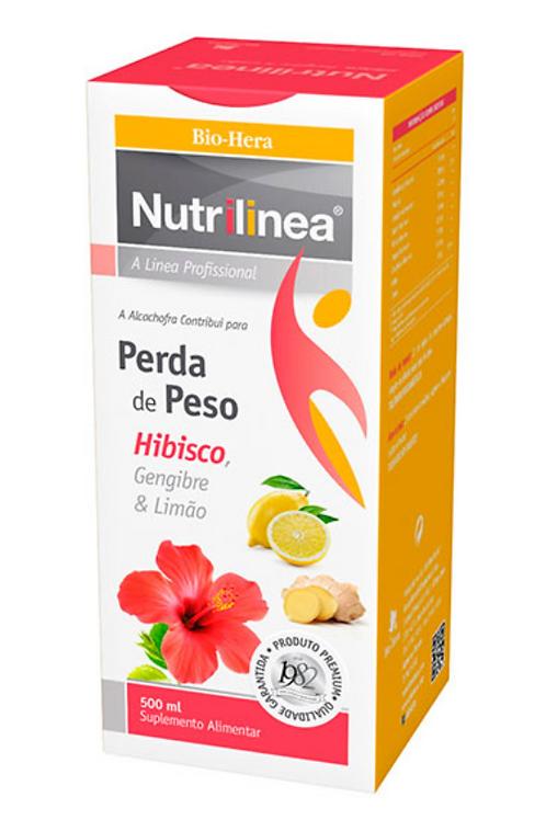 Nutrilinea Hibisco, Gengibre & Limão - 500ml