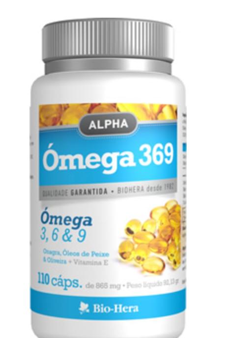 Alpha ÓMEGA 3 6 & 9  - 110 caps.