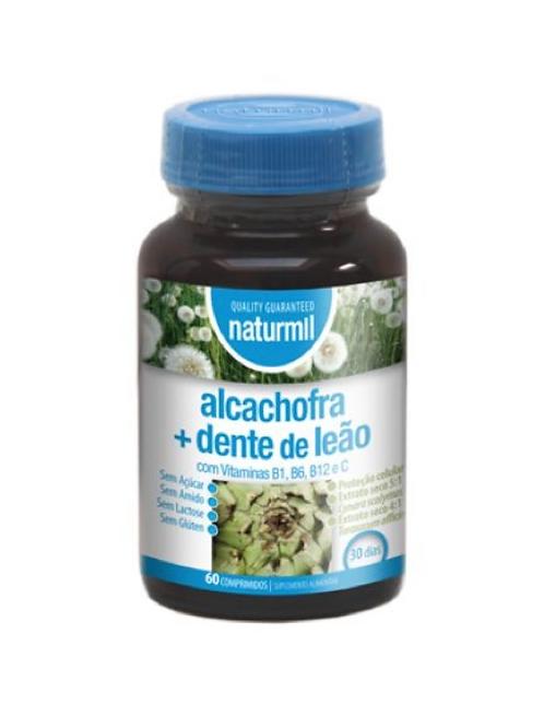 Alcachofra + Dente de Leão - (60 comp).