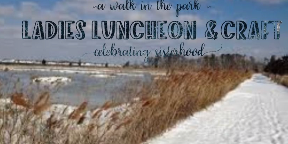 A Walk in the Park -Sandy Toes Craft & Luncheon 👣