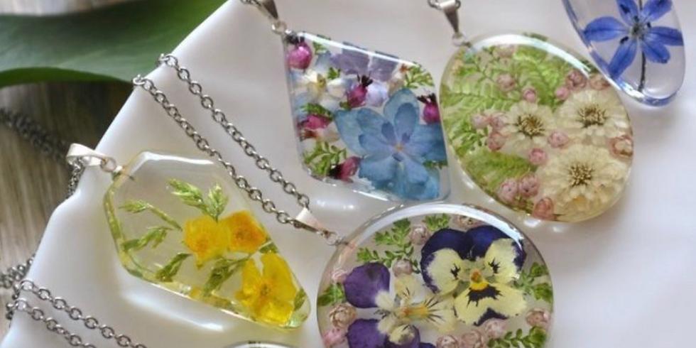 Resin Jewelry Design