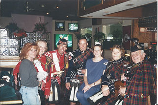 pipes and drums, bagpipes