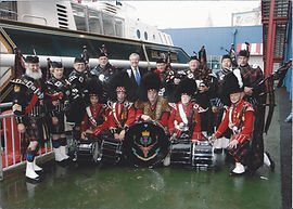 Mount Kisco Scottish, pipes and drums