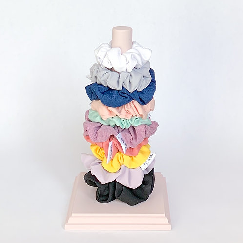 Blush Scrunchie Holder- Tall