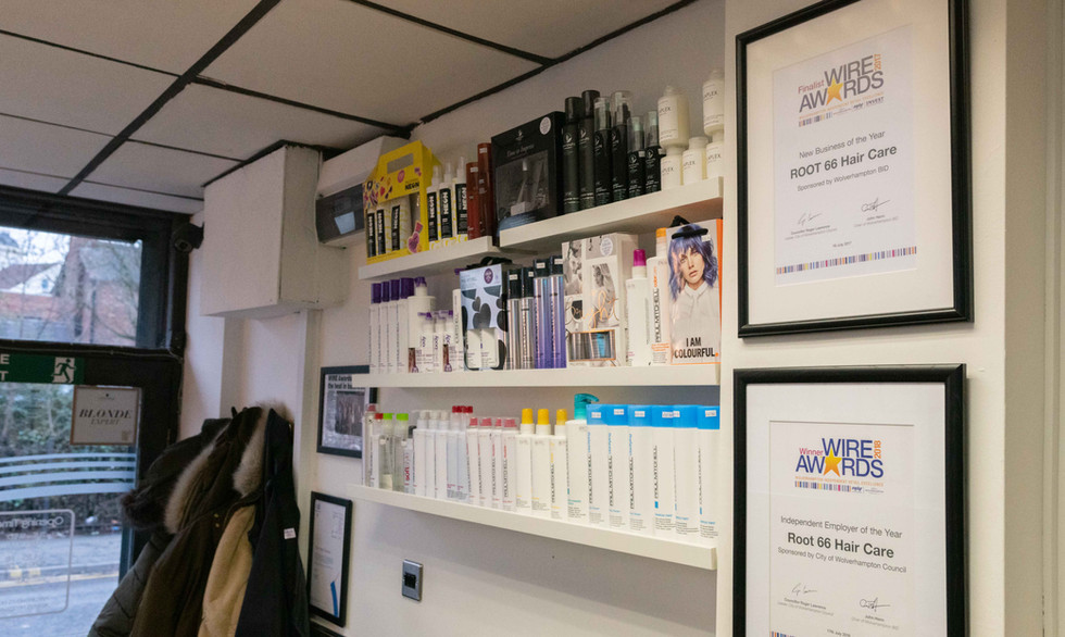ROOT 66 Hair Care | Hairdressers | Bilston |