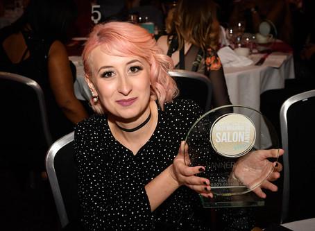 SALON AWARDS West Midlands Colourist of Year winner