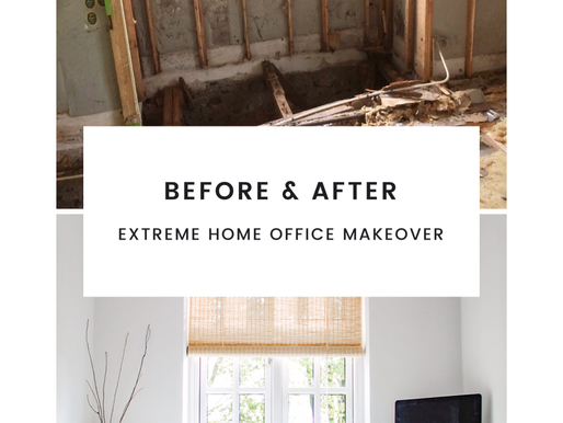 Before & After: Extreme home office transformation