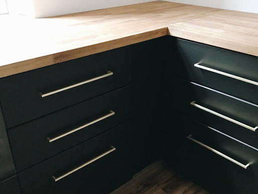 How to install handles on drawers