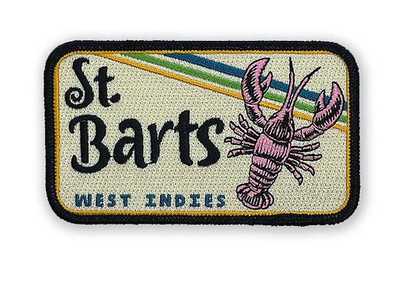 St. Barts West Indies Patch