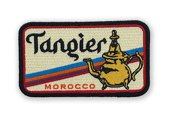 Tangier Morocco Patch