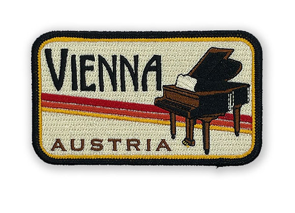 Vienna Austria Patch