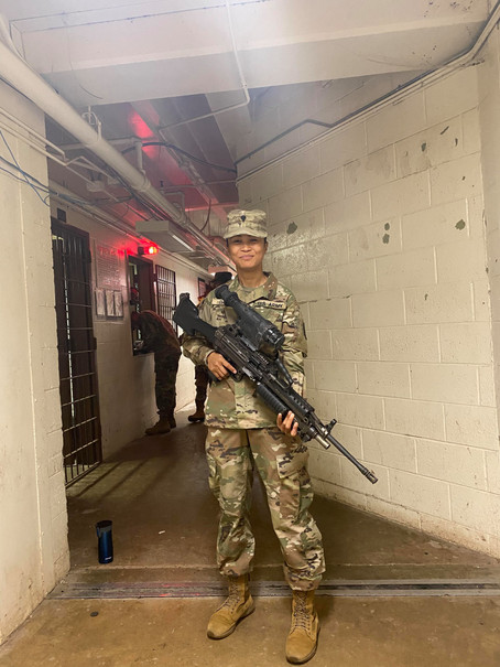 How a mother joined the US army at 35.