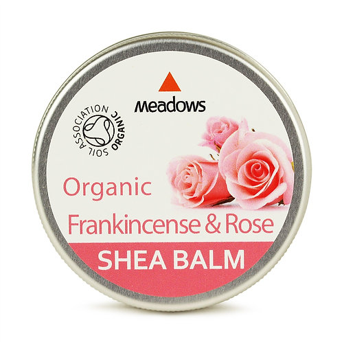 有機乳木果萬用霜 - 玫瑰乳香