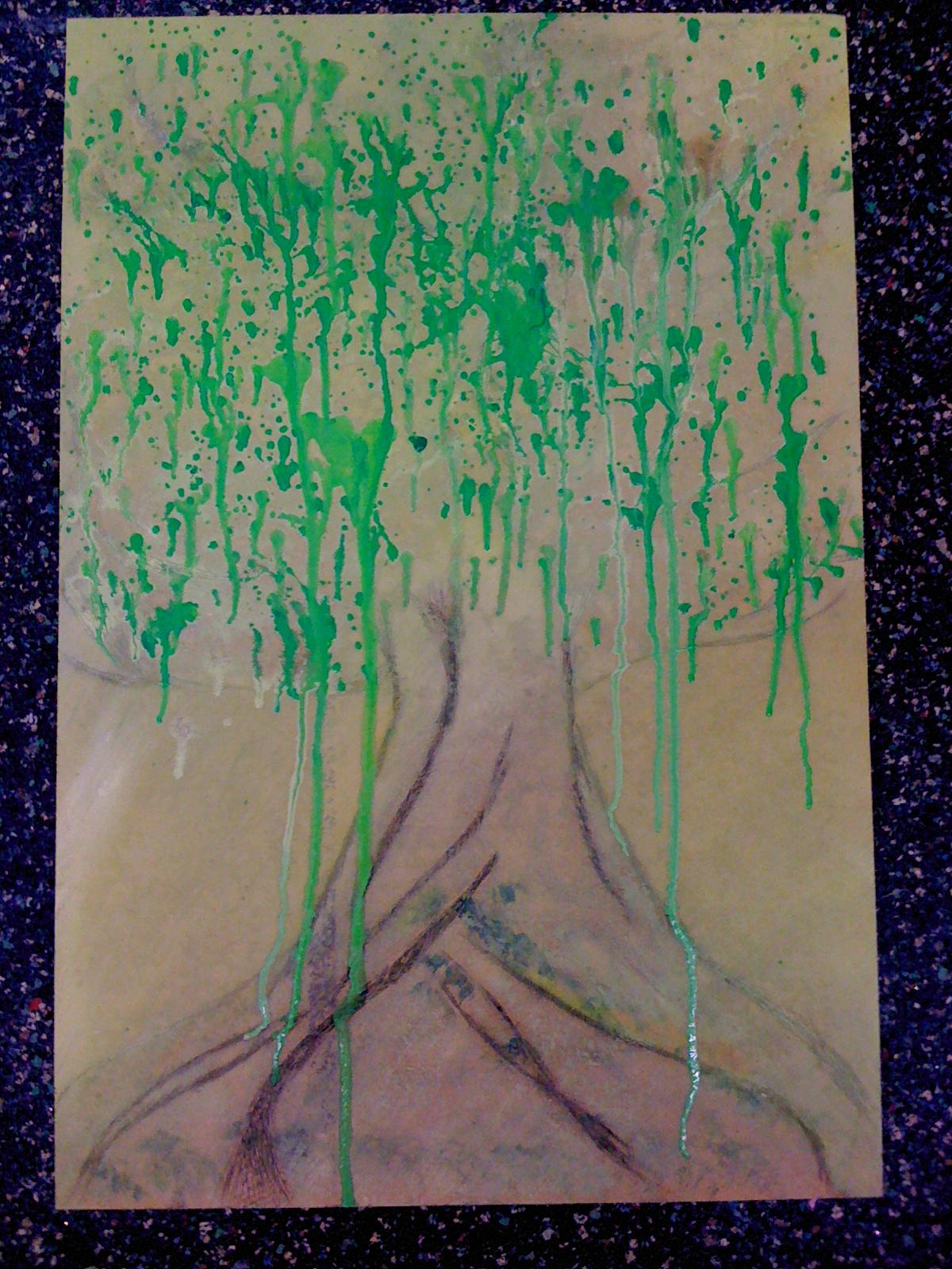 crying tree 哭泣的树
