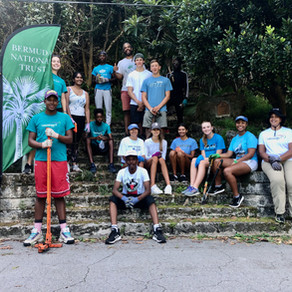 The Award partners with the Bermuda National Trust