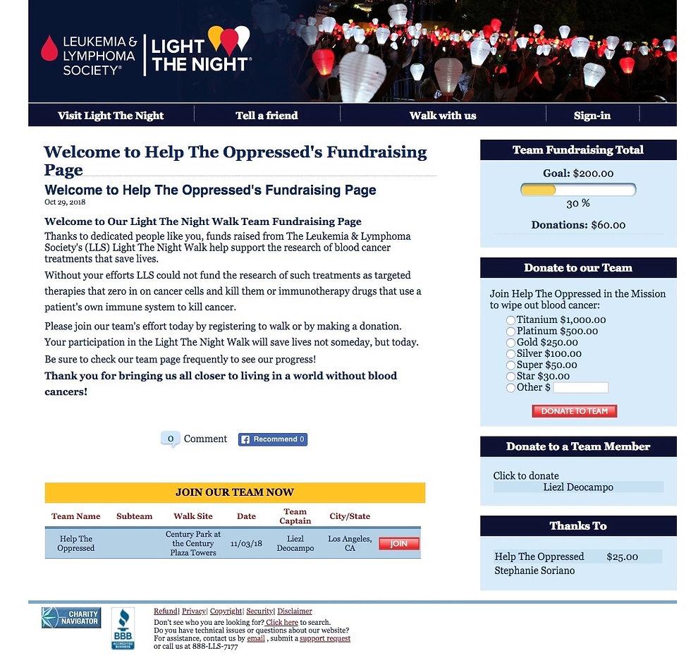 Help The Oppressed - Leukemia Society.jp