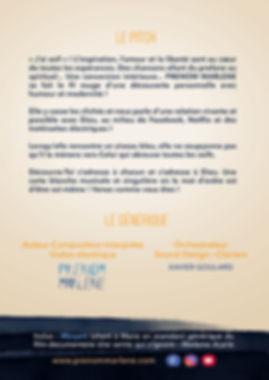 "Pitch Affiche ""Découvre-toi"" spectacle musical PRENOM MARLENE"