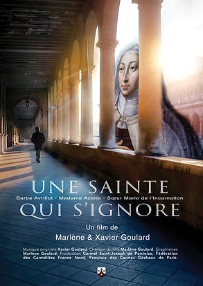 "Affiche ""Une sainte qui s'ignore - Madame Acarie"" Fil-documentaire"