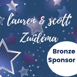 Bronze Sponsor - Laure & Scott Zuidema