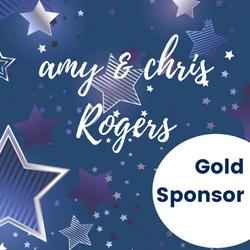 Gold Sponsor - Amy & Chris Rogers