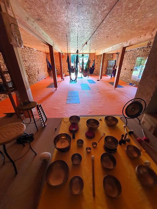 stage yoga vinyasa et aérien