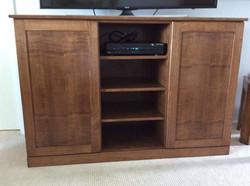 Custom Maple TV Stand