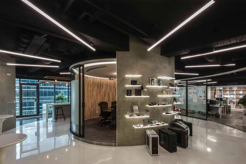 CRE8奎艾特設計台北辦公室門廳設計