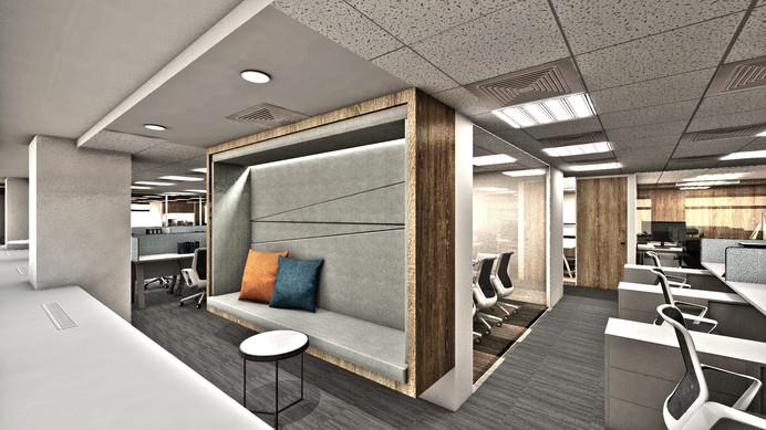 辦公室沙發談論區
