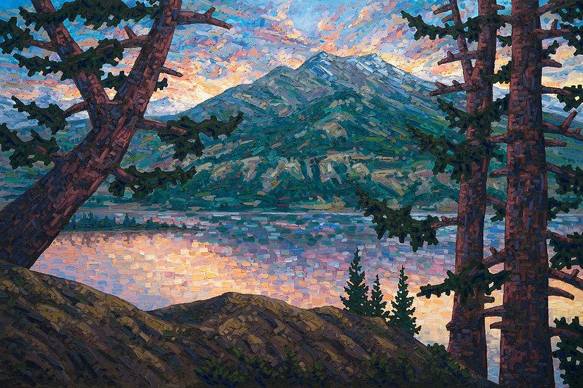 Sunset at Jasper Lake