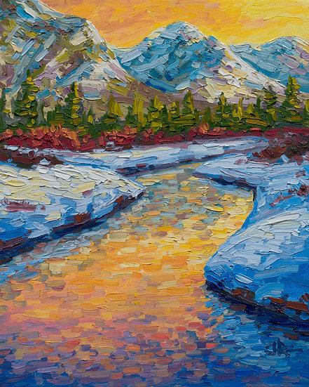 Creek by Johnson Lake