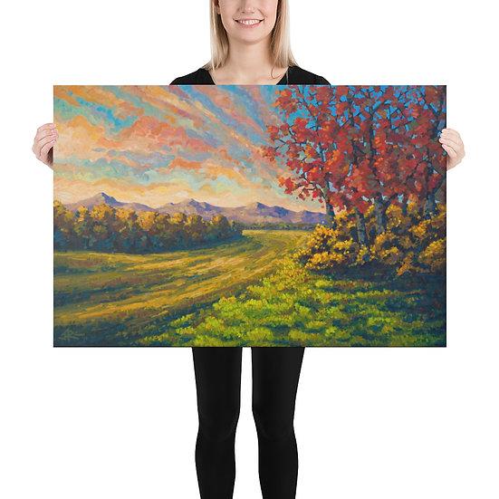 Farewell Autumn 24x36 Canvas