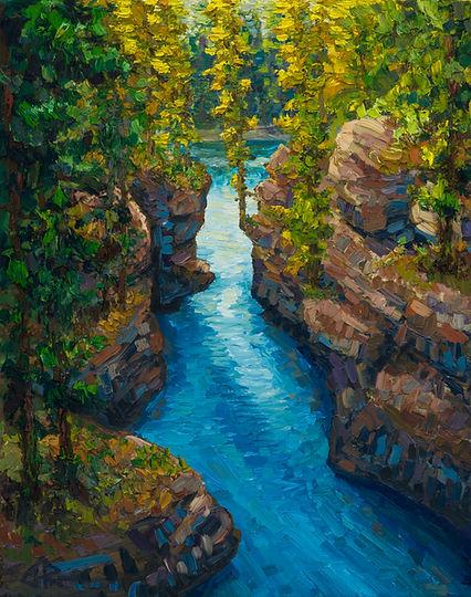 Athabasca River Canyon Study.jpg