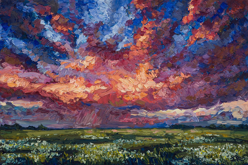 Prairie Storm (Study)
