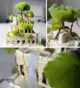 Висячие саду Семирамиды