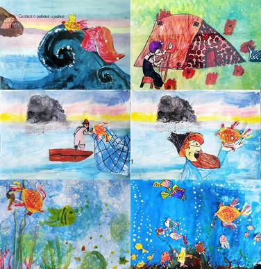 """Мультик """"Сказка о рыбаке и рыбке"""""""