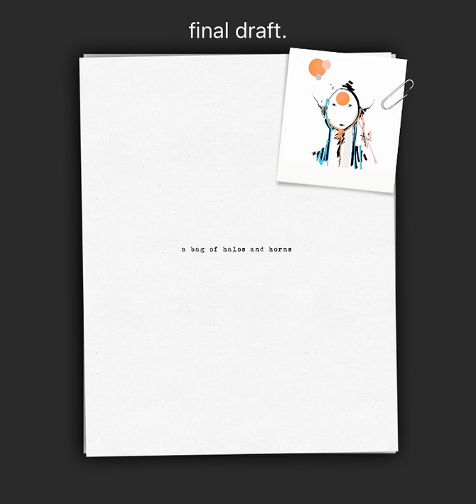 done. final draft.