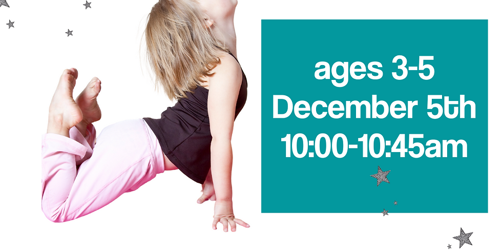 STN Holiday Yoga Ages 3-5