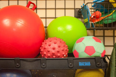 Balls at Seattle Therapy Network