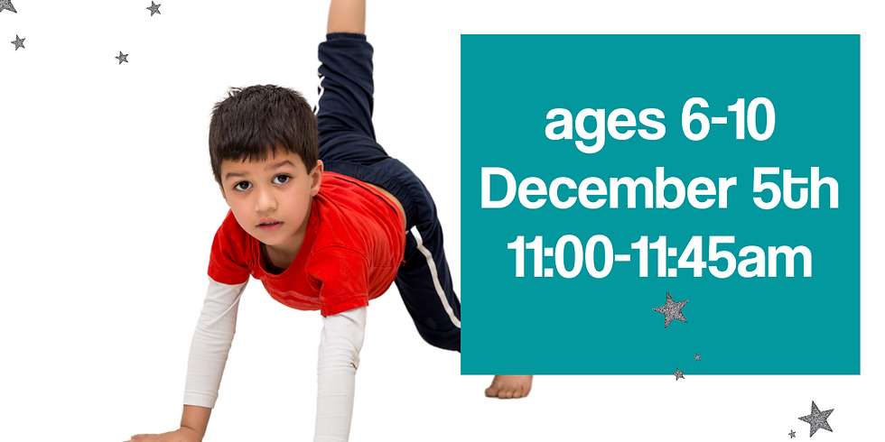 STN Holiday Yoga Ages 6-10